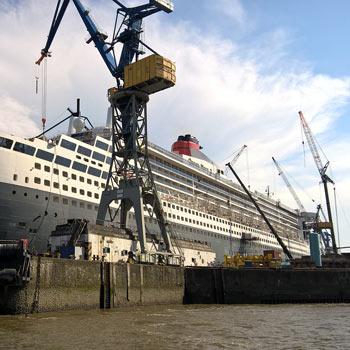 abarcones u bolts para el sector naval construcción de cruceros