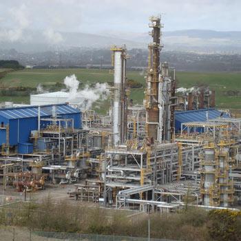 abarcones u bolts tuberías planta petroleoquímica